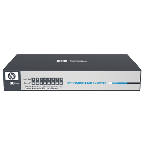 HP 1410-8G Switch -2